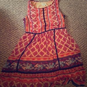 Bohemian Dress Great for work or Formal occasion